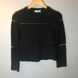 Zara Women's Black Top